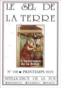 N°108 - Printemps 2019 - L´inerrance de la Bible